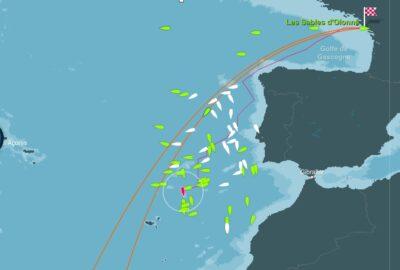 Vendée Globe 2012-2013 Virtual. Parte de situación a 13/11/2012