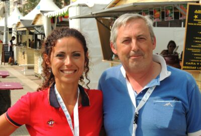 SANTANDER 2014 ISAF WORLD CHAMPIONSHIP. LA CARA AMABLE DE PANORAMA VELA