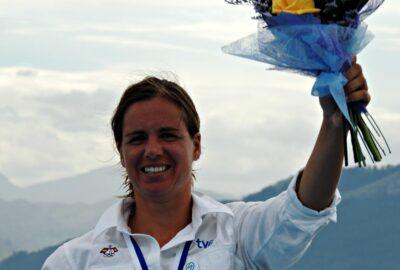 SANTANDER 2014 ISAF WORLD CHAMPIONSHIP. MARINA ALABAU PLATA EN  RS:X
