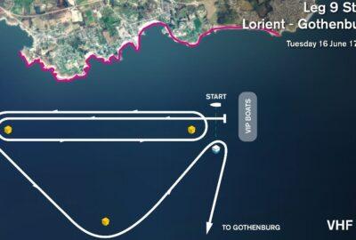 VOLVO OCEAN RACE 2014-15. 9ª LEG. LAS ÚLTIMAS 960 MILLAS DE REGATA.
