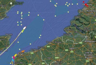 VOLVO OCEAN RACE 2014-15. 9ª LEG. 2J. A ESCASAS 100 MILLAS DEL «PIT STOP».