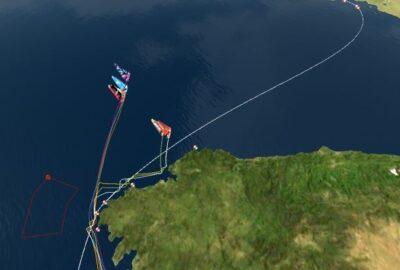 VOLVO OCEAN RACE 2014-15. LEG 8 21J. VIENTOS DE 40 NUDOS EN FINISTERRE.