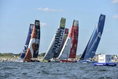 VOLVO OCEAN RACE 2014-15. 9ª LEG. 1J. BATALLA HACIA HOLANDA.