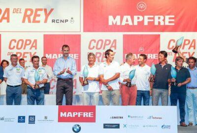 34ª COPA DEL REY MAPFRE DE VELA. PEDRO CAMPOS BATE RÉCORDS.