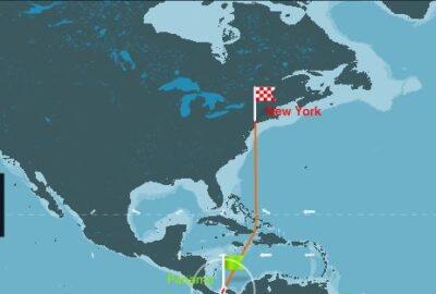 CLIPPER ROUND THE WORLD 2015-16. SALIDA 11ª ETAPA PANAMÁ-NEW YORK.