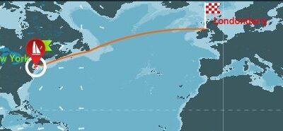 CLIPPER ROUND THE WORLD 2015-16. SALIDA 12ª ETAPA NEW YORK-LONDONDERRY.