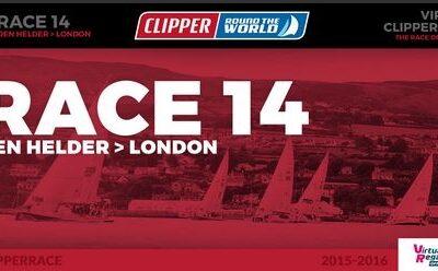 CLIPPER ROUND THE WORLD. SALIDA DEN HELDER-LONDRES. LA CLIPPER LLEGA A SU FIN