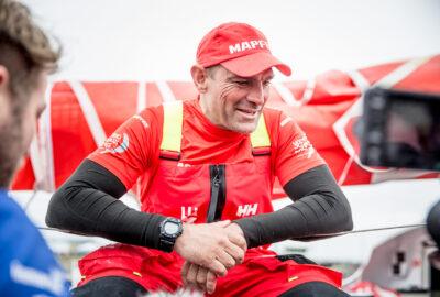 VOLVO OCEAN RACE 2017-18. XABI FERNÁNDEZ «SEGURO QUE LO VOLVERÉ A INTENTAR»