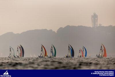 TOKYO 2020. ENOSHIMA TEST EVENT. LA VELA OLÍMPICA ESPAÑOLA MANTIENE SUS OPCIONES
