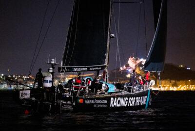 THE OCEAN RACE EUROPE. IGUALADÍSIMO FINAL DE LA SEGUNDA ETAPA